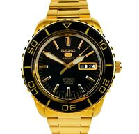Seiko 5 Sports Automatic Gold Stainless Steel Men's Watch SNZH60K1 SNZH60 £369