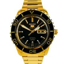 Seiko 5 SNZH60K1  Sports Automatic Gold Stainless Steel Mens Watch SNZH60 £369