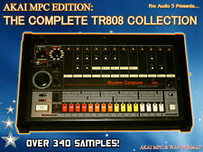 Complete TR808 Samples - DOWNLOAD - 808 Kicks Hats Snares Drum Kits - Akai MPC