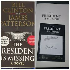 More details for signed bill clinton signed james patterson the president is missing book rare