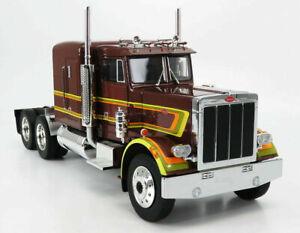 Peterbilt 1967 359 Semi Tractor Brown Metallic by Road Kings RK180081 1.18 scale