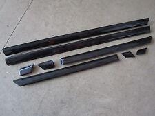 Türleisten Zierleisten VW Golf 3 4-türig Vento black magic perleff. LC9Z schwarz