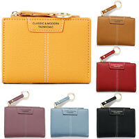 Womens Stylish Short Leather Wallets Card Holder Coin Purses Handbags Small Bags