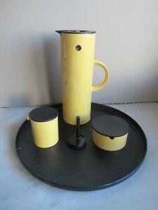Stelton Erik Magnussen Kaffeeservice Kanne dänisch denmark 70er Jahre Design (q)