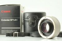 【MINT in BOX】 Canon Extender EF 1.4x Teleconverter Lens EOS EF Mount From Japan