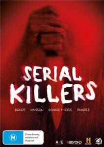 SERIAL KILLERS (BUNDY/MANSON/BONNIE & CLYDE/RAMIREZ) (HISTORY) [NEW DVD]