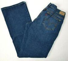Levi's Womens 515 Boot Cut Stretch Blue Jeans 10 M