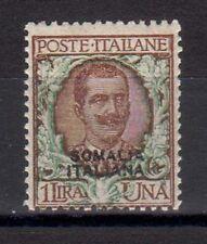 SOMALIA 1926-30 Aquila Sabauda soprastampato 1L MH* (EN)