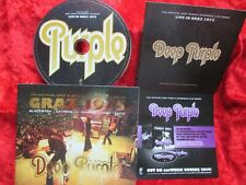 Deep Purple - Live in Graz 1975  GERMANY CD official Overseas live Series