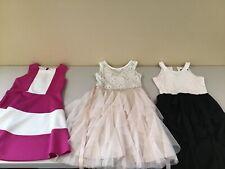 (3) Beautiful Girls Dresses Size 12, Rare Editions, Xtra Ordinary, Blush