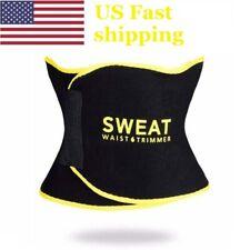 USA Sweat WAIST TRIMMER Women Men Fat Burner Belt Weight Loss Wrap Body Shaper