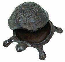 """Turtle Key Box, Dark Design, Decorative, 4""""L x 4""""W"""