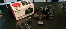 Canon EOS 1100D 12.0MP Digital SLR Camera - Black (Kit w/ EF-S 18-55mm DC II)
