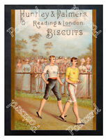 Historic Huntley & Palmer's Biscuits 1890s Advertising Postcard 1