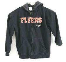 PHILADELPHIA FLYERS Black Official NHL Hoodie Sweatshirt Mens Sz L
