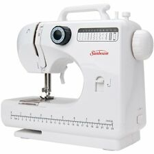 Portable Sewing Machine Compact 4 Step Button Holes and 12 Stitches New Seal Box