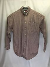 Tommy Hilfiger long sleeved men's button up shirt. Size S