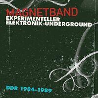 MAGNETBAND EXPERIMENTELLER ELEKTRONIK-UNDERGROUND DDR, 1984-1989  CD NEU