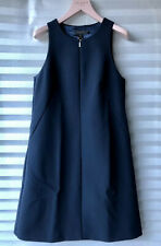 Ted Baker 'Lolanaa' Modern A-line Tunic Dress Navy Size 1 UK 8 New