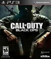 Call Of Duty Black Ops - Authentic Sony Playstation 3 PS3 Game