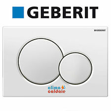 Placca di comando di scarico GEBERIT SIGMA 01 due pulsanti bianca 115.770.11.5