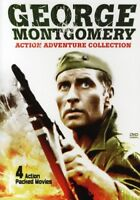 George Montgomery Action Adventure Collection [New DVD] Full Frame, Dolby