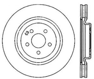 Disc Brake Rotor-Sport Front Left Stoptech 127.35052L