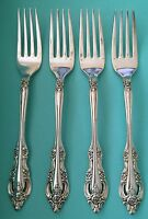 Oneida SILVER ARTISTRY Silverplate Flatware Set of 4 Dinner Forks