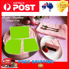 Cake Smoother Polisher Tools Cutter Decorate Fondant Cream Icing Mold Medium AU