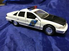 Alaska State Troopers 1:43 Road Champs Toy Chevrolet Caprice Police Car