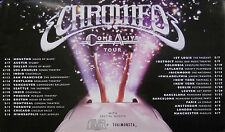 CHROMEO, COME ALIVE TOUR POSTER (T10)