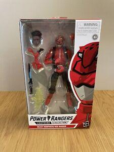 NEW & SEALED Power Rangers Lightning Collection Beast Morphers Red Ranger