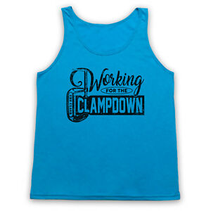CLAMPDOWN PUNK UNOFFICIAL ROCK WORKING FOR CLASSIC ADULTS VEST TANK TOP