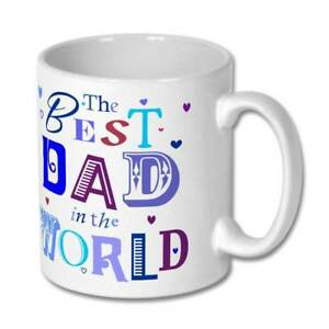 The Best Dad in the World Birthday Father's Day Christmas Gift Mug