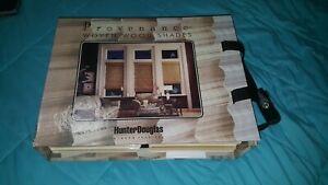 "Rare Hunter Douglas Woven wood Shade catalog- ""Provenance""- only 1 on ebay-blind"