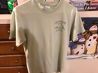 Vintage Gilman T Shirt S Green Camp Occoneechee Camp Well Live Well Staff Shirt