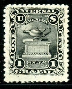 Scott's RO 126b, Leigh & Palmer Match Company stamp.