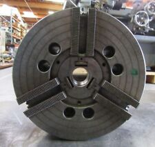 """HOWA 12"""" 3 JAW POWER CHUCK FROM MORI LATHE SL-4 A2-8 MOUNT, 0258, HOIA 12  A8"""