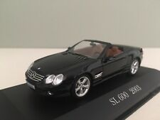 Mercedes R230 SL topasblau Modellauto Yatming 1:72