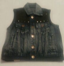 Youth Girl's Jean Vest by Agile Denim-Size 5