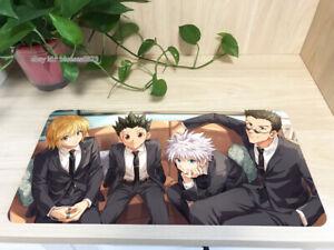 Anime Boy Hunter x Hunter Mouse Pad Kurapika Killua Zoldyck Keyboard Mat Playmat