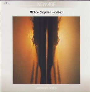 Michael Chapman - Heartbeat LP (Coda Records 832 223-1) 1987 NEAR MINT-.