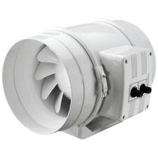 Rohrventilator dalap AP 125 T mit Temperatur - u. Drehzahlregelung (17001)