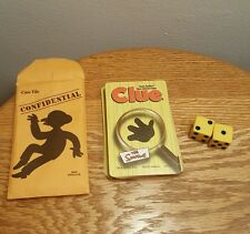 The Simpsons Clue Board Game Replacement Cards, Case File, Dice