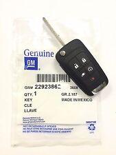 NEW Genuine OEM Chevy GM Switchblade Flip Key 5 Button Remote for 2011-2013 VOLT