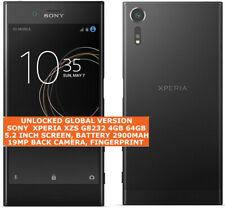 "SONY XPERIA XZS G8232 4gb 64gb Quad Core Dual Sim 19mp 5.2"" Android Smartphone"