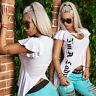 By Alina Mexton Damen T-Shirt Tunika Longshirt Bluse Longtop Volant  Weiß XS-M