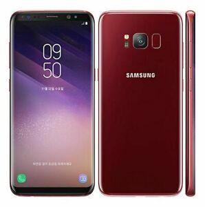 "New Original Unlocked Samsung Galaxy S8 5.8"" 64GB 4GB RAM 12MP Smartphone"