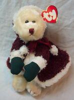 "TY Attic Treasures MRS. SANTABEAR TEDDY BEAR 8"" STUFFED ANIMAL Toy NEW Christmas"