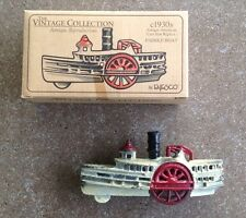 Vintage Collection, c 1930's Antique American Cast Iron Paddle Boat, New in Box